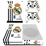 #8: Hytech Plus Real Madrid UEFA Champions League Edition Theme Sticker for Xbox One S Console & 2 Controllers