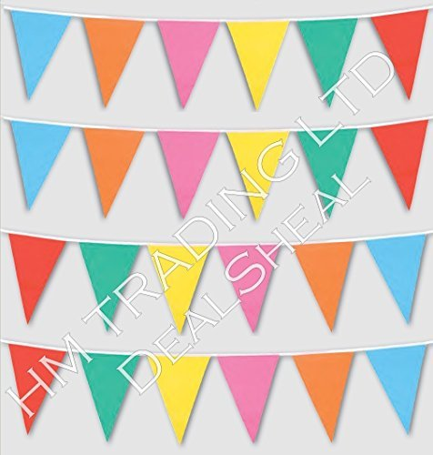 33-feet-long-multi-coloured-pvc-plastic-bunting-banner-20-flags-pennant-double-sided-indoor-outdoor-