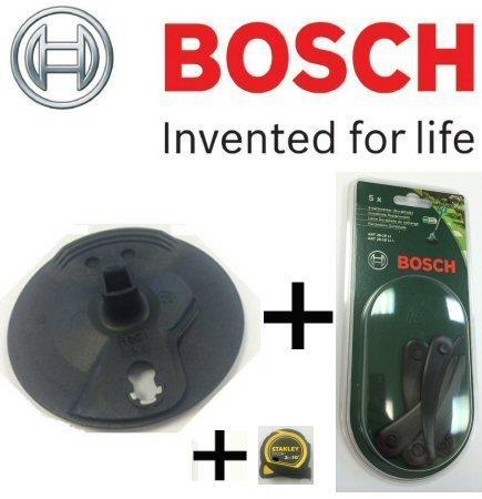 Bosch de rechange véritable Noir cutting-disc C/W Lot de 5Bosch Noir durablades (pour: Bosch Art 26–18li Tondeuse sans fil) C/W Stanley 1,2+ Barre de chocolat Cadbury