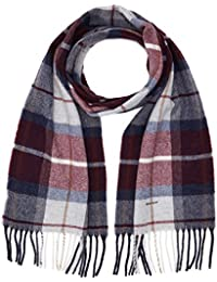 Gant Check Lambswool Scarf, Echarpe Homme
