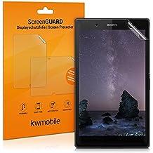 kwmobile Lámina protectora de pantalla para Sony Xperia Tablet Z3 Compact - protector transparente para display de tableta