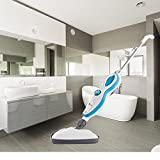 DB Aqua Eco Parry Dampfmop Dampfreiniger Dampfbesen 1500 Watt Handdampfreiniger cleaner steam mop steam cleaner Bodenreiniger (12in1)