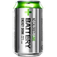 Battery No Cal Lime Energy Drink Cans, 330 ml, Pack... preiswert