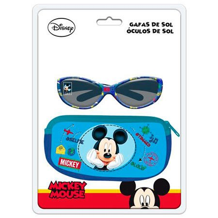 Blister Gafas Sol Mickey Disney + Funda