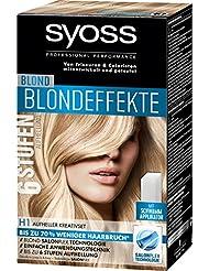 Syoss Blond H1 Blondeffekte Kreativset Stufe 3, 3er Pack (3 x 95 ml)