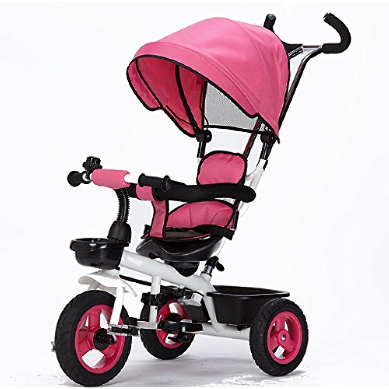 CGN- Bici per bambini, carrello per bambini Rosa morbido ( Colore : Rosa bambini )  Parent a52e4a