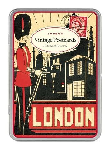 Cavallini, Postkartenset mit 12 Karten- London