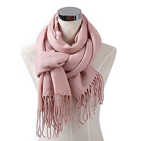 Reiner Farbe im Herbst / Winter Wolle Schal/ Lady lange Kaschmir Schals/ warm Student Lätzchen-E One (Schmetterling Tuch Lätzchen)