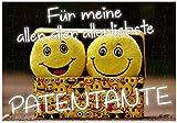 WB wohn trends Puzzle-Botschaft Eckig ~ Für Meine Aller-Liebste Patentante ~ 120 Teile 27x18cm inkl. Geschenk-Beutel