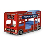 Julian Bowen Novelty London Bus Bunk Bed