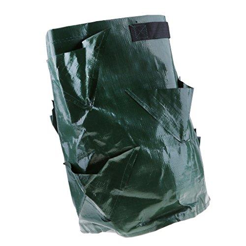 Baoblaze Grow Bag Pflanzsack Pflanztasche Kartoffelsack Pflanzbeutel ausrobustem PE-Kunststoff für Kartoffeln, Tomaten, Kräuter, Blumen, Pflanzen, auch als Garten Abfallsack