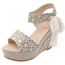 Sandalias Mujer 2018 ❤ Amlaiworld Sandalias y Chancletas de Tacón Alto  Plataforma para Mujer Zapatos 07774172023b