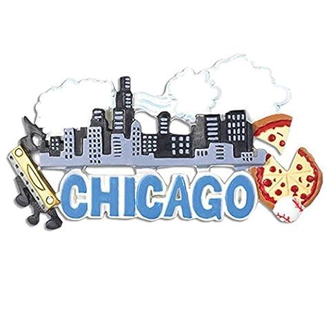 Personalisierte Weihnachtsschmuck travel-chicago - WE CUSTOMIZE for you