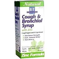 Boericke & Tafel Tafel, Cough Bronchial Syrup with Zinc, 240ml,