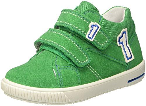 Superfit Baby Jungen Moppy Sneaker, (Grün Kombi), 25 EU
