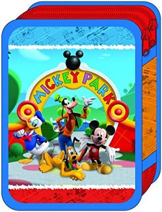 Diakakis - 0561495 - Plumier Plumier Plumier Double Garni - Mickey Mouse - 15 x 21 x 5 cm - 31 Pièces B01IN9BHTW   Bonne Conception Qualité  52f0f8