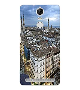 LENOVO K5 NOTE CITY VIEW Back Cover by PRINTSWAG