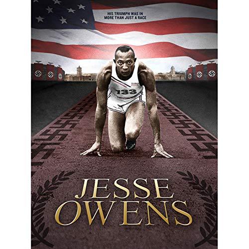 SPORT MEMORIAL AFRICAN AMERICAN OLYMPIC SPRINTER JESSE OWENS 18X24'' PLAKAT POSTER ART PRINT LV11168 -