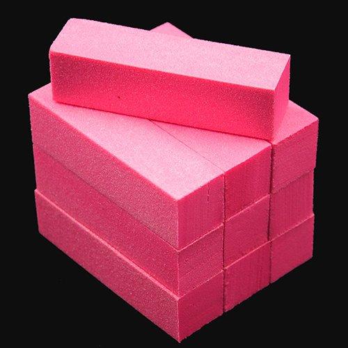 Professionelle Nagel-puffer (Bodhi2000 10 Stück Nagel Kunst Pflege Puffer Polieren Schleifen Block Dateien Grit Acryl Maniküre Werkzeug)