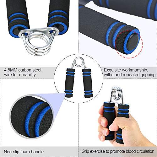Zoom IMG-4 tomshoo hand grip strengthener workout