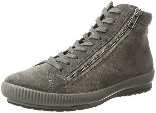 Legero Women's Tanaro Hi-Top Slippers Grey Size: 5 UK