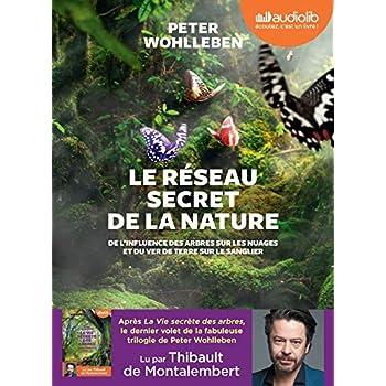 Le Réseau secret de la nature - De l'influence des arbres sur les nuages et du ver de terre sur le s: Livre audio 1 CD MP3
