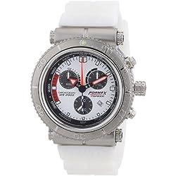 Formex 4 Speed Men's Quartz Watch DS2000 20003.3111 with Rubber Strap
