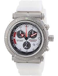 Formex 4 Speed DS2000 - Reloj para caballero de silicona blanco