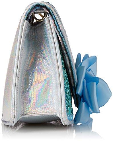 Irregular Choice Damen Pastel Pride Clutch, 10x16x30 centimeters Blau (Blue)