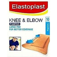 Sechs Packungen von Elastoplast Knie & Ellenbogen 10Stoff Pflaster preisvergleich bei billige-tabletten.eu