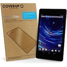 Cover-Up UltraView - Protector de pantalla cristalino para Google Nexus 7 2 FHD (2013) (7-pulgadas) Tablet (paquete de 2)