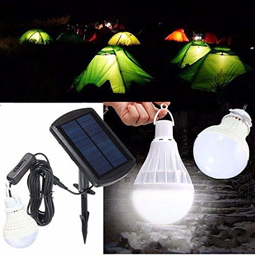 Bazaar Lampada di pesca all'aperto tendopoli portatile sensore di potenza del pannello solare LED lampadina