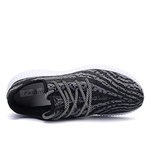 KVKY , Chaussures de running pour homme bleu bleu marine gris foncé