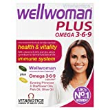 Vitabiotics Wellwoman Plus Omega 3?6?9 - 56 Tablets/Capsules