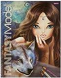 Depesche 007888 Create Your Fantasy Model - Libro para dibujar diseños de fantasía