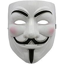 NEW 2015 vendetta v masque de guy fawkes eyeliner nostril anonymous fancy adult costume-masque boolavard déguisement ltd