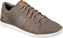 Skechers Mens Lanson Revero Sneaker Oxfords Tan 8.5 D(M) US