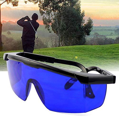 SYN Golf-Brille zum Finden von Blendungen, Windball Finder Sonnenbrille, professioneller Augenschutz, praktische Kratzfestigkeit, Geschenk, Sport-Etui, Blaue Gläser, Outdoor