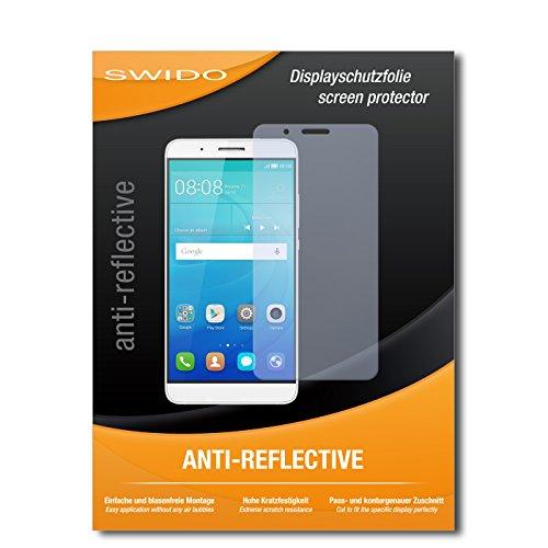 SWIDO Bildschirmschutz für Huawei ShotX [4 Stück] Anti-Reflex MATT Entspiegelnd, Hoher Härtegrad, Schutz vor Kratzer/Glasfolie, Schutzfolie, Bildschirmschutzfolie, Panzerglas Folie