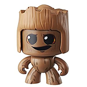 Marvel Classic- Mighty Muggs Figura Coleccionable de Marvel, Groot, Color marrón (Hasbro E2166EU4)