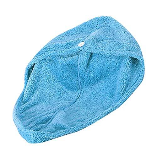 Windy5 Microfibra Capelli Porta Asciugamani Ultra Twist Assorbente Cappello Testa bombata Turbante Asciugatura Cuffia