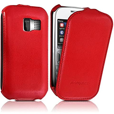 Housse Protection Nokia Rouge - Seluxion - Housse Etui Coque Rigide à