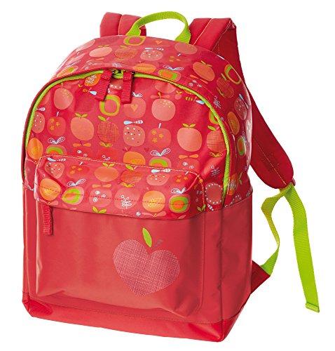 inder Rucksack groß, Apfelherz, Rot, 24636 (Apfel Für Kinder)