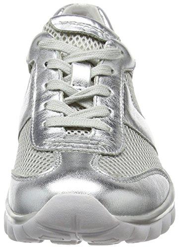 Gabor Damen Rollingsoft Sneakers Silber (silber 81)