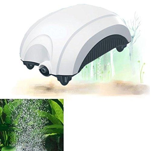 Außenlüfter für Aquarien, Belüfter zur Sauerstoffversorgung mit Luftpumpe, 1,6 Liter