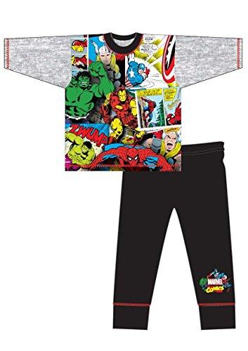 anzug, Figur Avengers - Earth's Mightiest Heroes Gr. 5-6 Jahre , Avengers - Comic Style (Fleece Pjs Für Kinder)