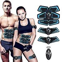 SHENGMI Muscle Toner, Abdominal Toning Belt Abs Trainer Body Fitness Belt Ab Workout Machine for Men & Women Arm & Leg Trainer