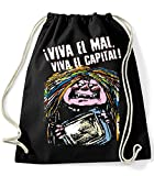 35mm - Mochila / Bolsa - La Bruja Averia Viva El Mal Viva El Capital -Tv - Bag/Backpag, NEGRA