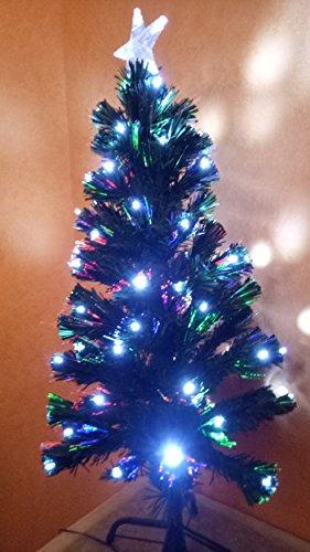 Cadeaux creation Sapin Fibre Optique LEDs Blanches