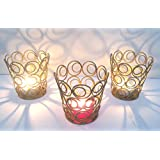 [Sponsored]Nexplora Industries Decorative Votive Ring Tealight Candle Holder Set Of 3